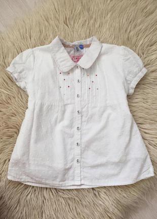 Красивенная блузочка на девочку  на 6-7 лет