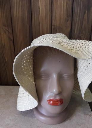 Шляпа шляпка беж