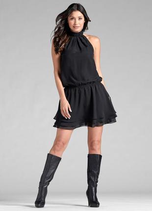 Черное вечернее платье винтаж