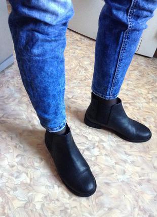 H&m chelsea boots ботинки черные челси