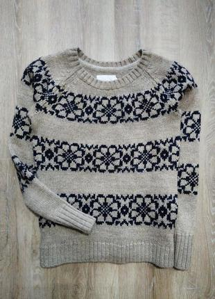 Тёплый свитер от h&m