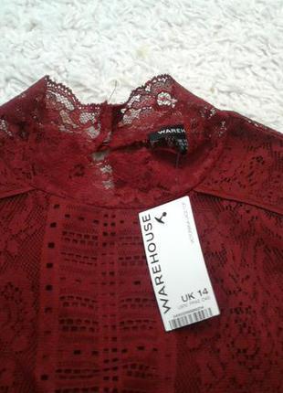 Шикарная блуза-футболка цвета фуксия