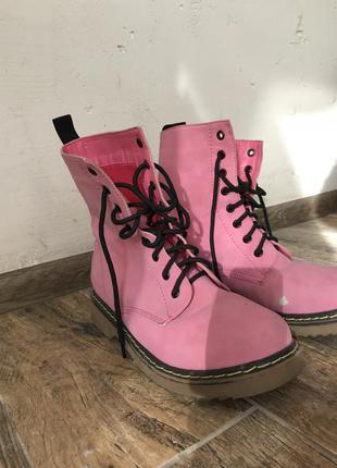 Розовые ботинки tally weijl