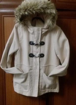 Пальто кашемир h&m 38 размер divided