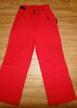 Лыжные зимние брюки на девочку р.128 active thinsulate insulation