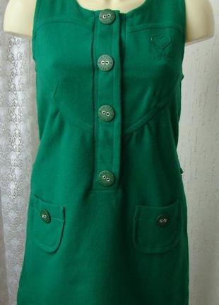 Платье женское теплое сарафан осень зима мини бренд 10 feet р.42-44 №5375