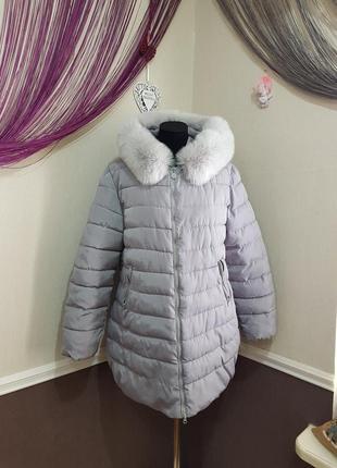 Стильная теплая куртка hulilong