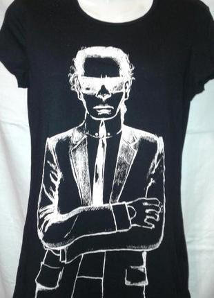 Молодежная суперлегкая футболка karl lagerfeld
