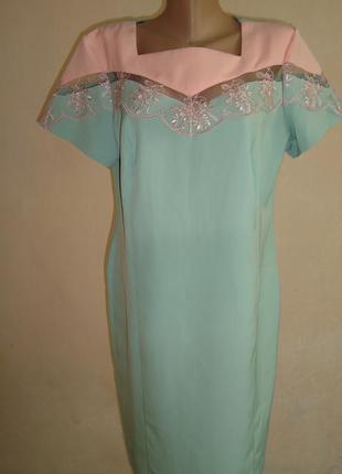Красивое нарядное платье 50, 52, 54