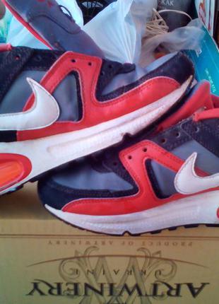 Nike air max р-36.5 стелька 23 см оригинал детские кроссовки