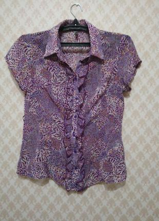 Блуза, шифоновая блузка, лента, пояс