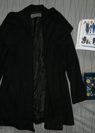 Стильное пальто халат zara