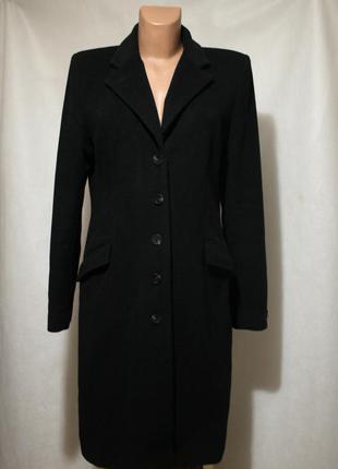 Шерстяное пальто h&m шерсть, кашемир, размер м-л