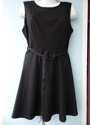 Платье трикотаж, новое new look размер 14 – идет на 48-50+