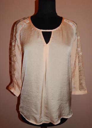 Шифоновая нежная блуза bershka