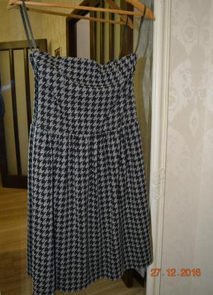 Платье-бюстье zara