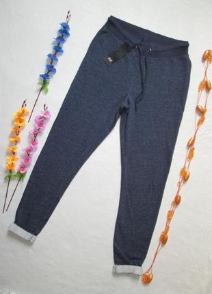 Трикотажные спортивные  меланжевые брюки 100% коттон  f&f