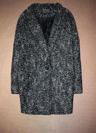 Базовое пальто на одну пуговицу, бойфренд