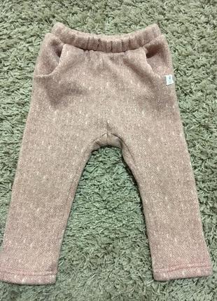 Тёплые штаны zara