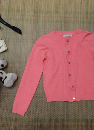 Кофта на пуговицах, пуловер, свитер, реглан 8 лет