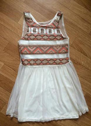 Милое новогоднее миниатюрное платье