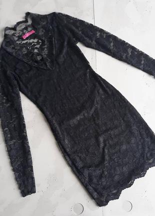 Платье с соблазнительной спинкой
