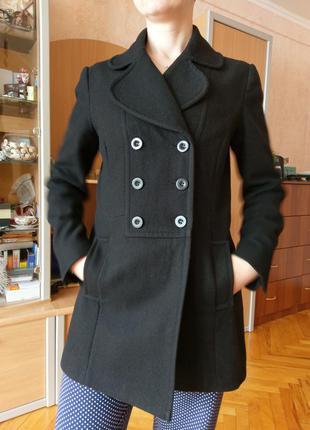 Пальто 100% шерсть