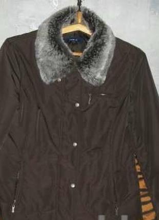 """Куртка коричневого цвета на утепленной подкладке""""casualclub""""р.48"""