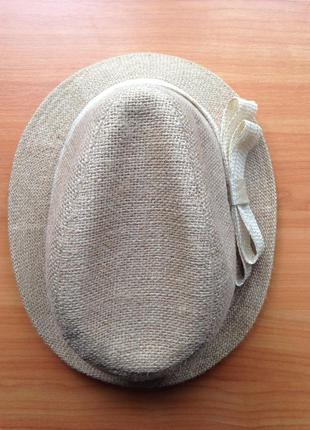 Конопляная летняя шляпа