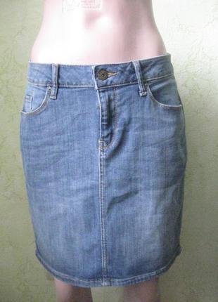 Юбка джинсовая стрейч размер 38/40