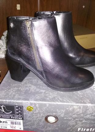 Firetrap ботинки демисезон натуральная кожа оригинал