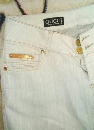 Штаны джинсы gucci