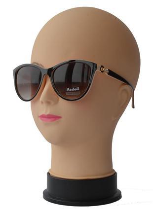 Женские солнцезащитные очки aedoll 8206 коричнево бежевые