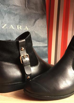 Ботинки осенние , полусапожки zara
