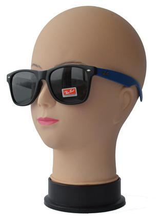 Солнцезащитные очки унисекс вайфареры линзы стекло