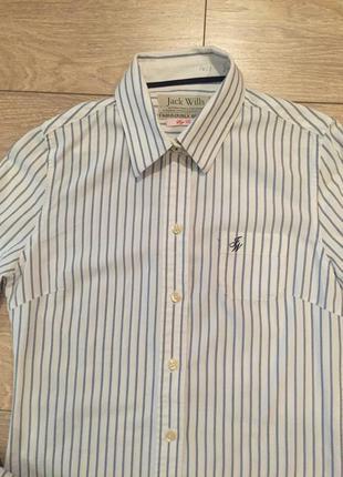 Котоновая рубашка jack wills p.xs