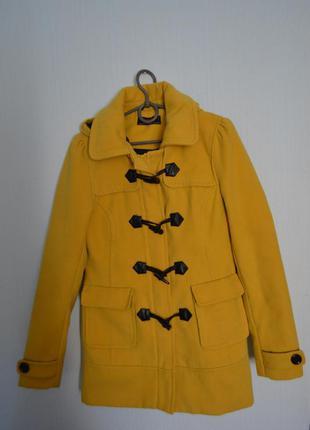 Демисезонное пальто дафлкот new look