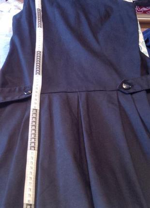 Школьное платье-сарафан zara