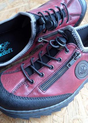 Туфли-мокасины rieker antistress оригинал 3 размера 37, 38 ,41