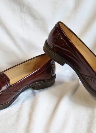 Туфли лоферы clarks (размер 40 (uk 7))