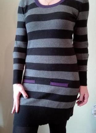 Теплое платье sela размер м