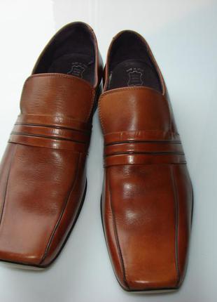Новые кожаные туфли next, р.46