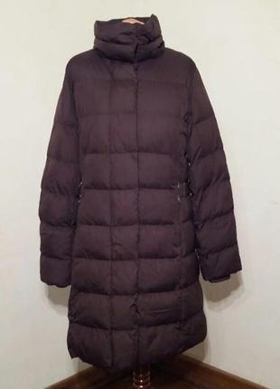 :  пальто коричневое стеганое бренда h&m.