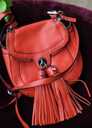 Кожаная сумочка karen millen
