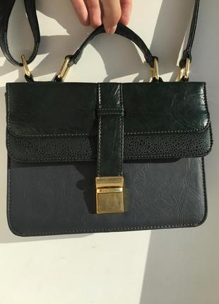Стильна сумка miss selfridge через плечо