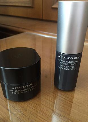 Shiseido men омоложивающий набор