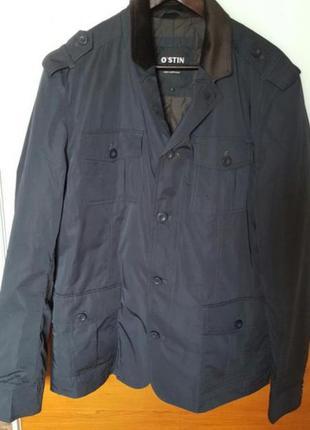 Мужская куртка-пиджак бренда ostin размер 48-50 (l)
