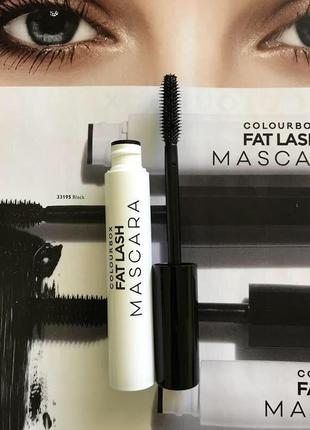 Тушь для ресниц oriflame сolourbox fat lash mascara
