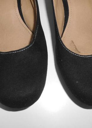 Туфли на низком каблуке5