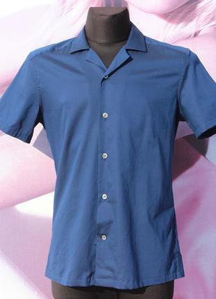 Крутая рубашка с коротким рукавом reiss slim fit